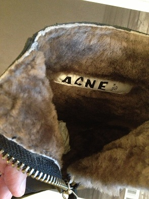 acne pistol short fur 7.JPG