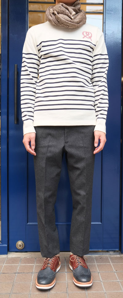 """different news : STEALTH WEALTH """"JEANS"""" WOOL TROUSERS ステルス ..."""